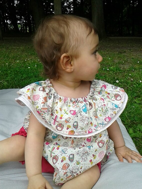 Tenue cookie et cupcake Lou&me12M 1-2