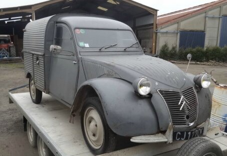 achat voiture 2cv camionnette occasion. Black Bedroom Furniture Sets. Home Design Ideas