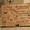 A Token of Friendship for your birthday (1st version) US$ 10.50