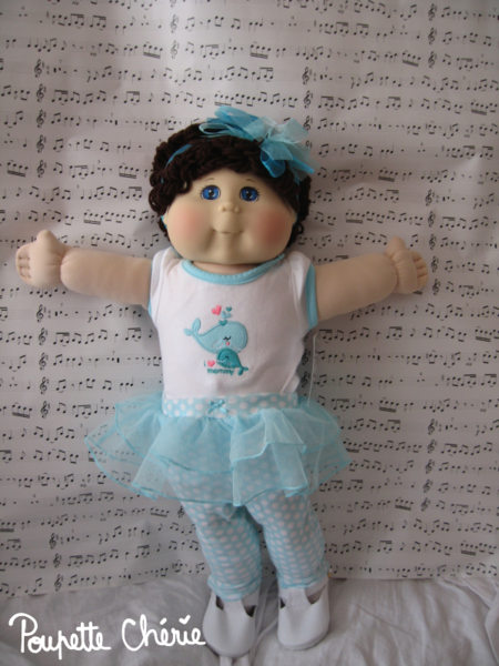 Cabbage Patch Kids Bleue 01