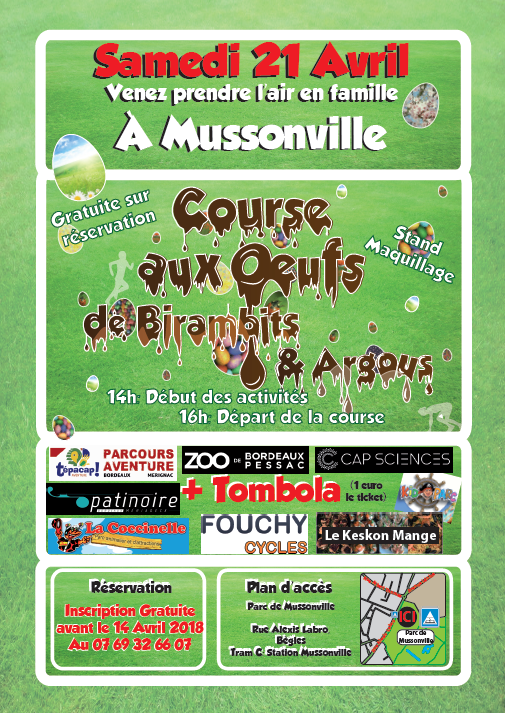 course oeufs 2018