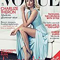 Charlize theron pour vogue