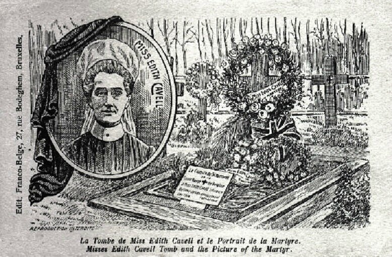 CPA Tombe Edith Cavell