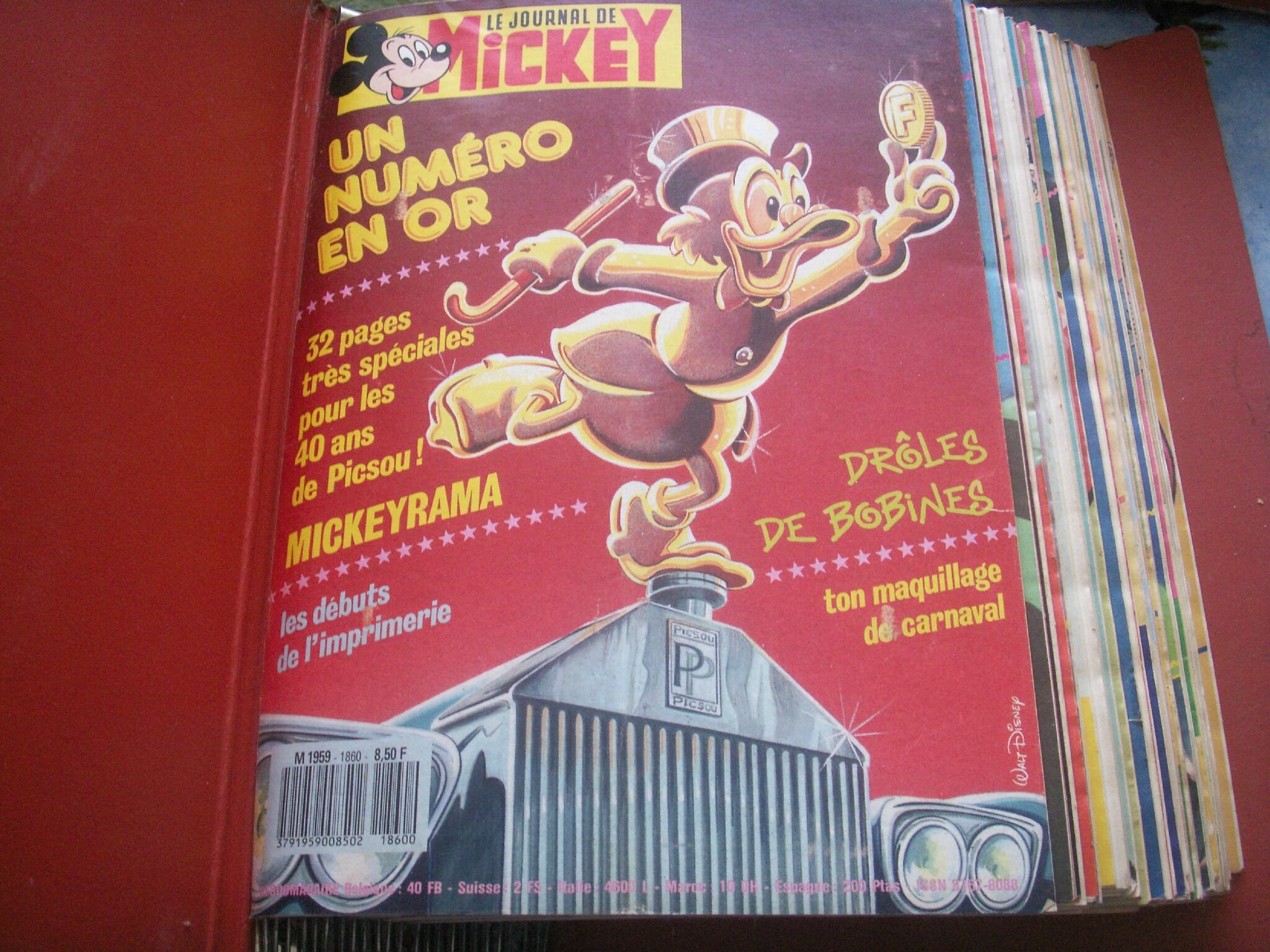 "magazine ""le journal de mickey"""
