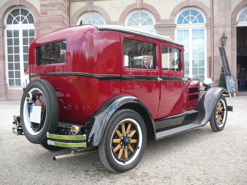 HUDSON Essex 4door Sedan 1929 Schwetzingen (2)