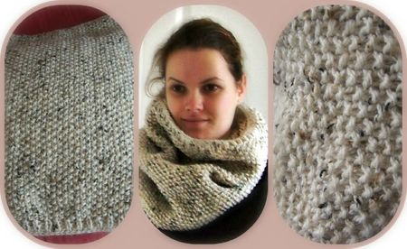 Picnik collage snood