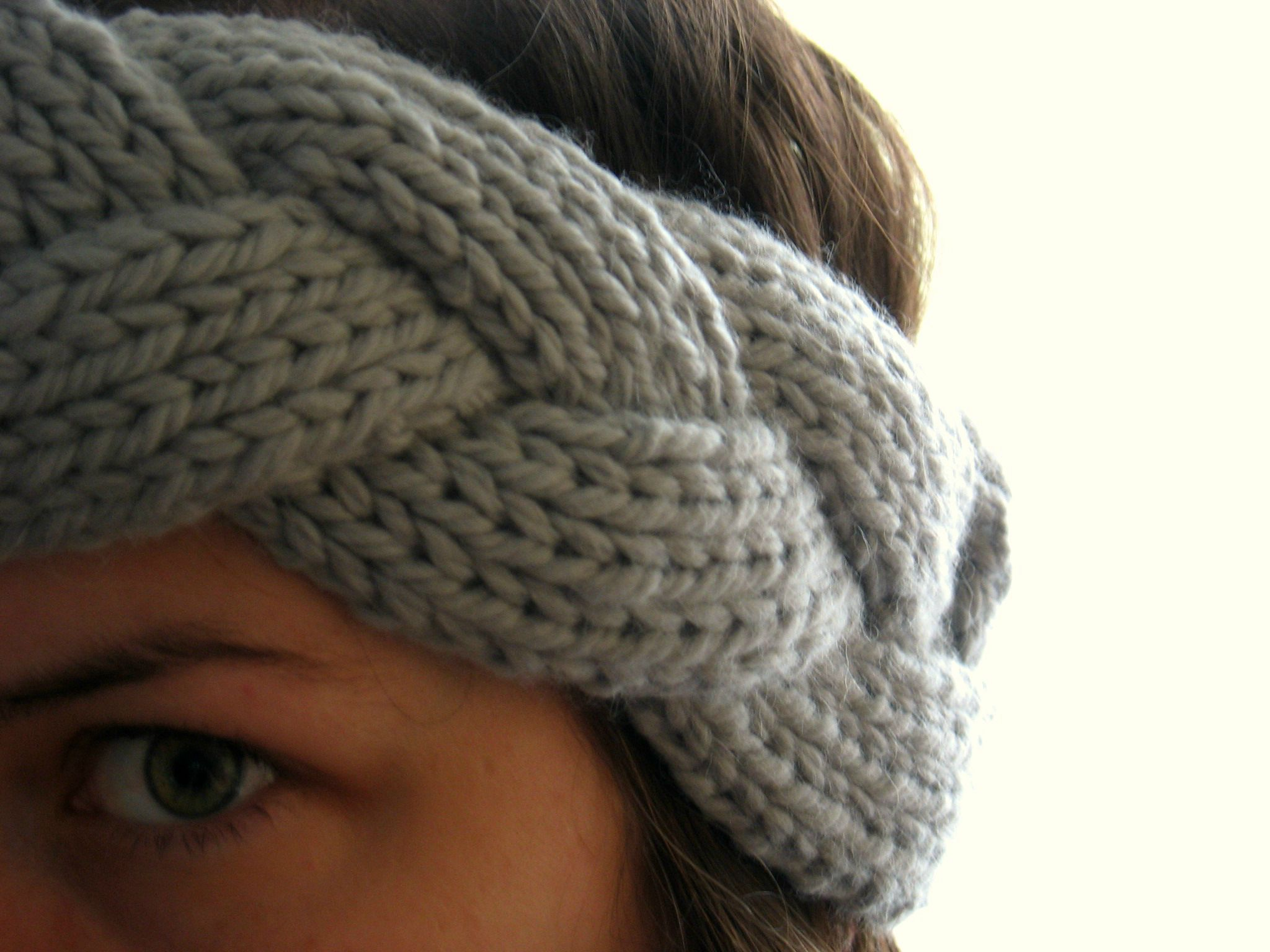 comment tricoter headband