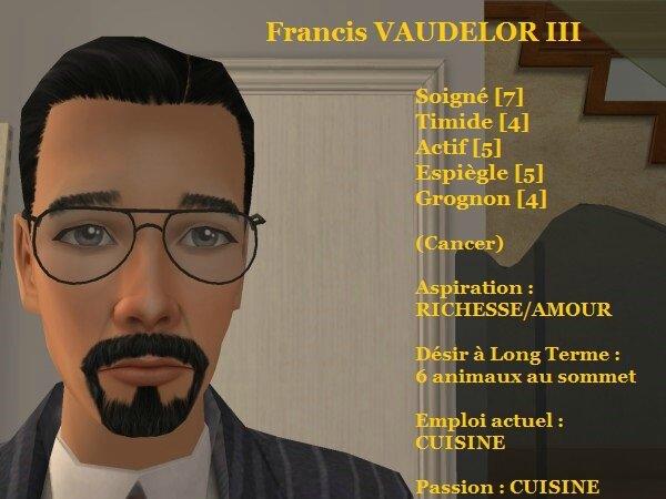 Francis VAUDELOR III