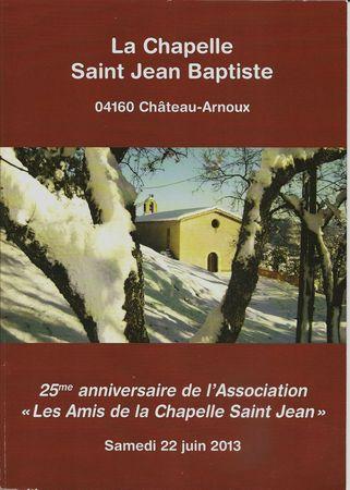 Couverture livret Saint Jean