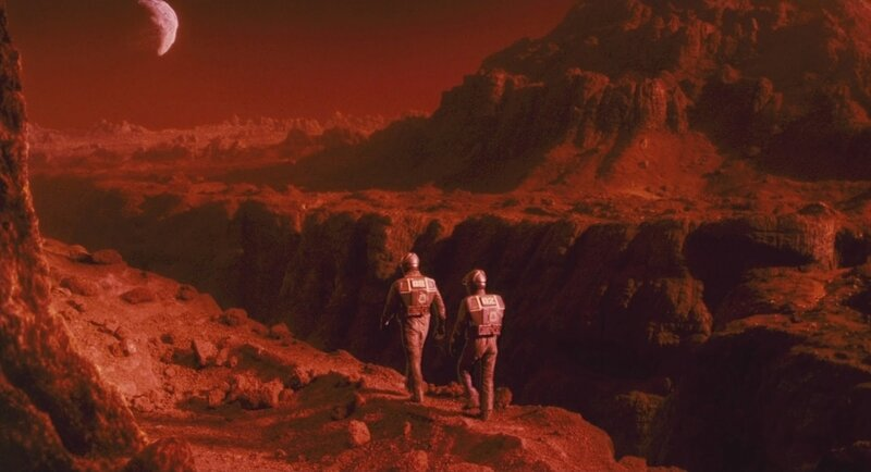01 Astronauts on Mars Total Recall 1990 movie image