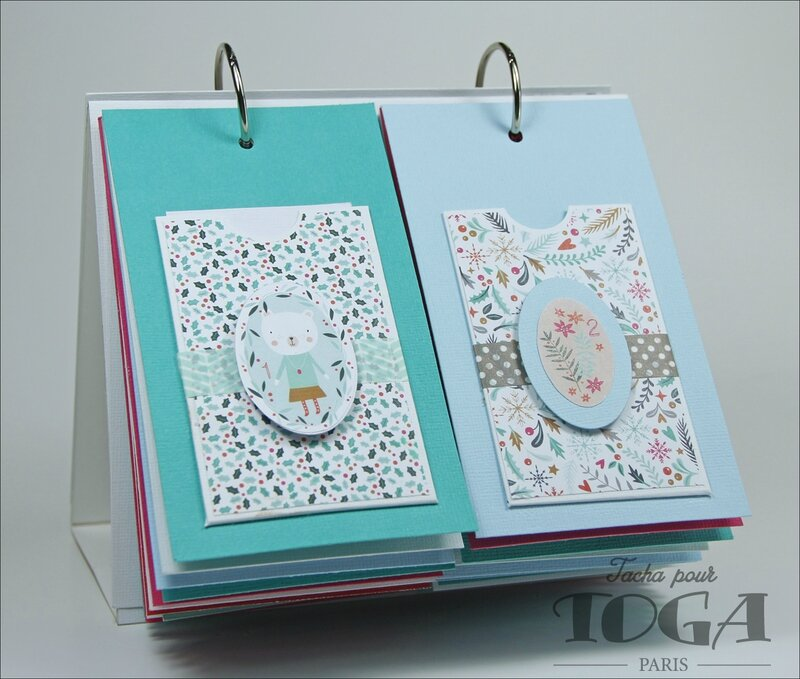 Collection Noel calendrier 2016 DT Tacha 2