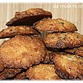 Cookies aux pétales de maïs