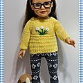 Pull fleuri pour dana - flowery sweater for dana