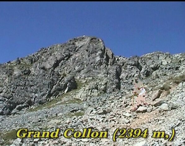 Grand Collon - 2394 m - Belledonne