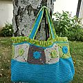 Dfi crochet #1 - Le sac !