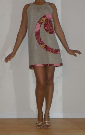 Patron robe tunique en lin