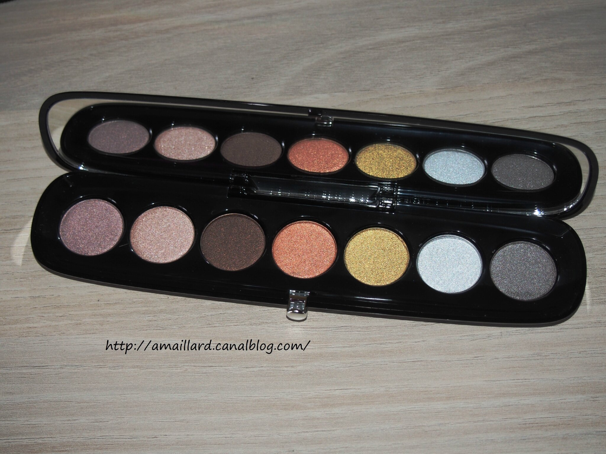 PALETTE THE STARLET MARC JACOBS:PRESENTATION/ SWATCHS & MAKEUP.....