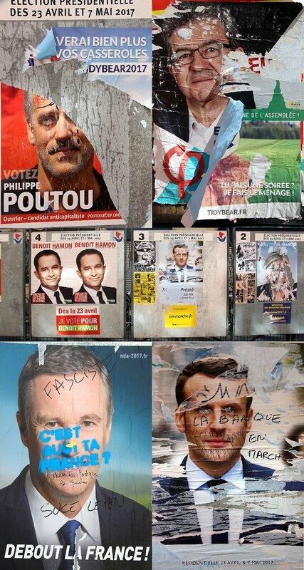 Affiche élection présidentielle