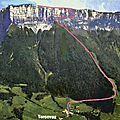 Le granier 1933 m de tencovaz - chartreuse