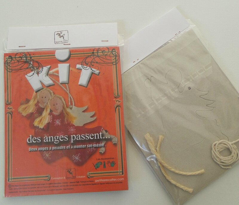 pochette kit anges debout