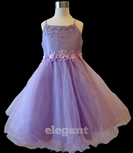 "Robe ""Carline""fillette violette 3 ans, 4 ans , 6 ans, 8 ans"
