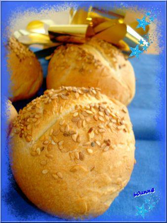 petits pains ronds au sésame (1)