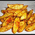 Potatoes maison ou pommes de terre rties au four...