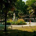 Espace vert parisien ; le jardin des Tuileries.