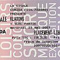 Klaxons / metronomy - mercredi 23 mai 2007 - la cigale (paris)