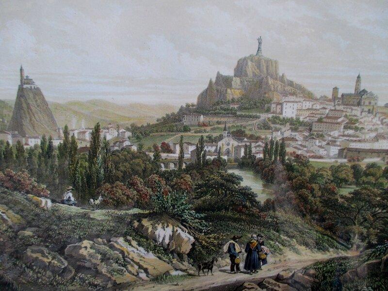 Le Puy vers 1830