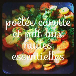 poelée carotte pdt
