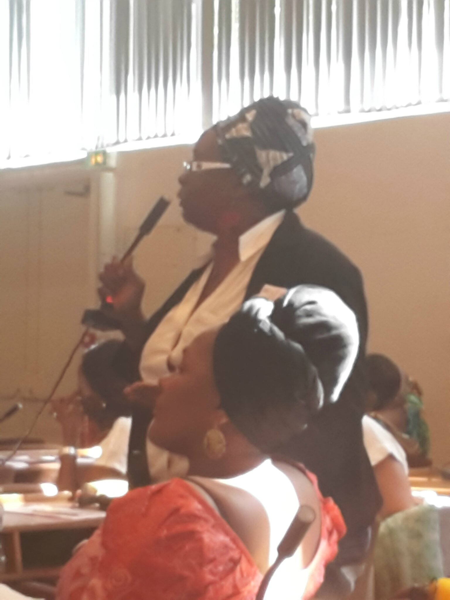 Présidente d'une association afro-descendante de Belgique. Cette association se bat pour la recoonnaissance des Droits fondamentaux des afro-descendants.