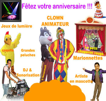 animation anniversaire oujda