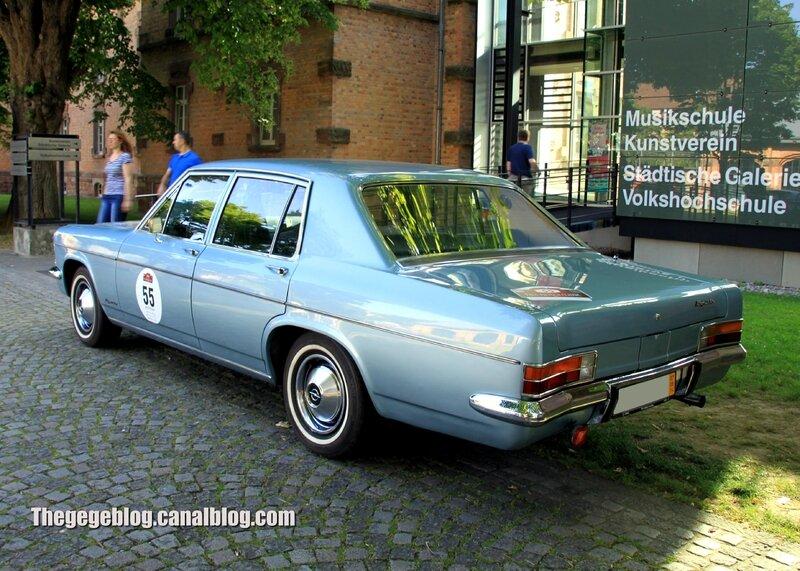 Opel kapitan 2800 S de 1969 (Paul Pietsch Classic 2014) 02