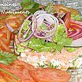 poisson en salade