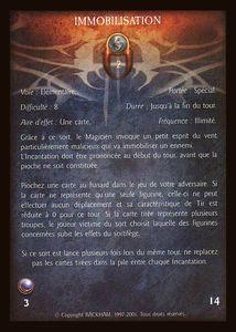 Kyran le Chasseur - immobilisation (sort)