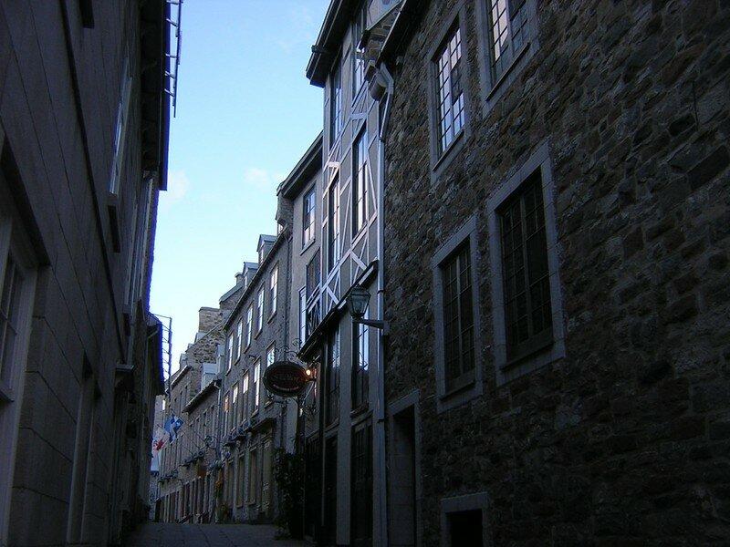 Une rue du Vieux Québec