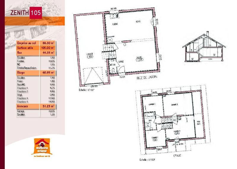 Plan maison zenith for Comment obtenir vos plans de maison