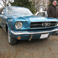 Ford mustang bleu 1965 02
