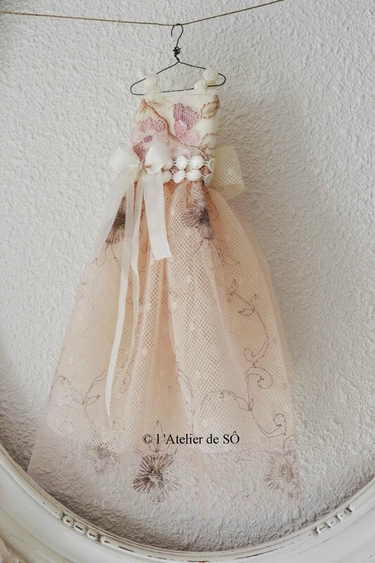 robe princesse _Rose _ b - 1