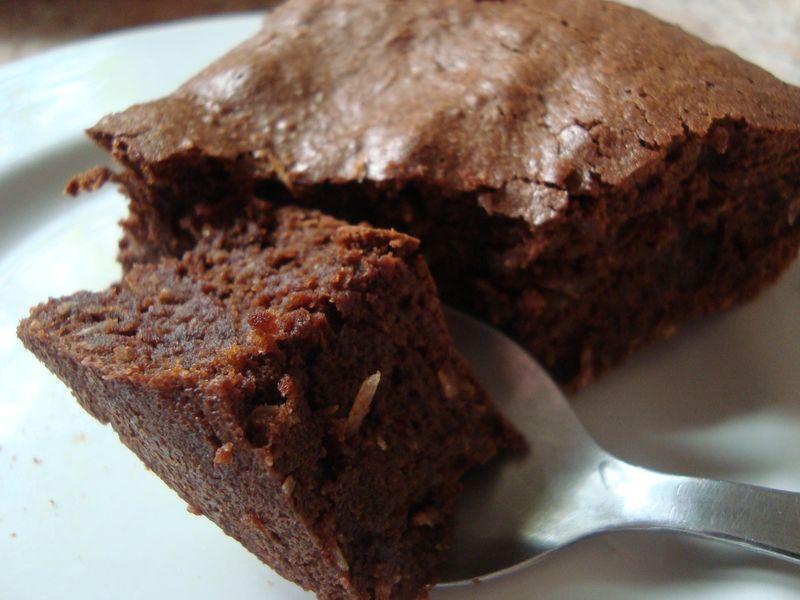 Gateau noix de coco chocolat recette