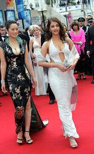 Aishwarya Rai - Cannes 2004 avec Gong Li