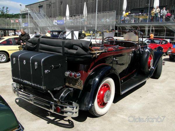 pierce arrow model 42 touring 1931 c