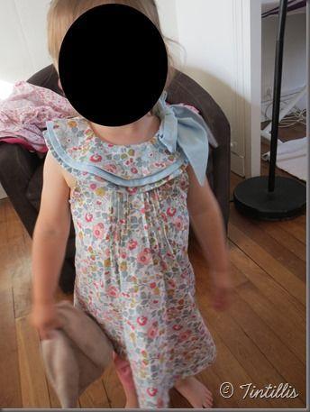 robe retouchée
