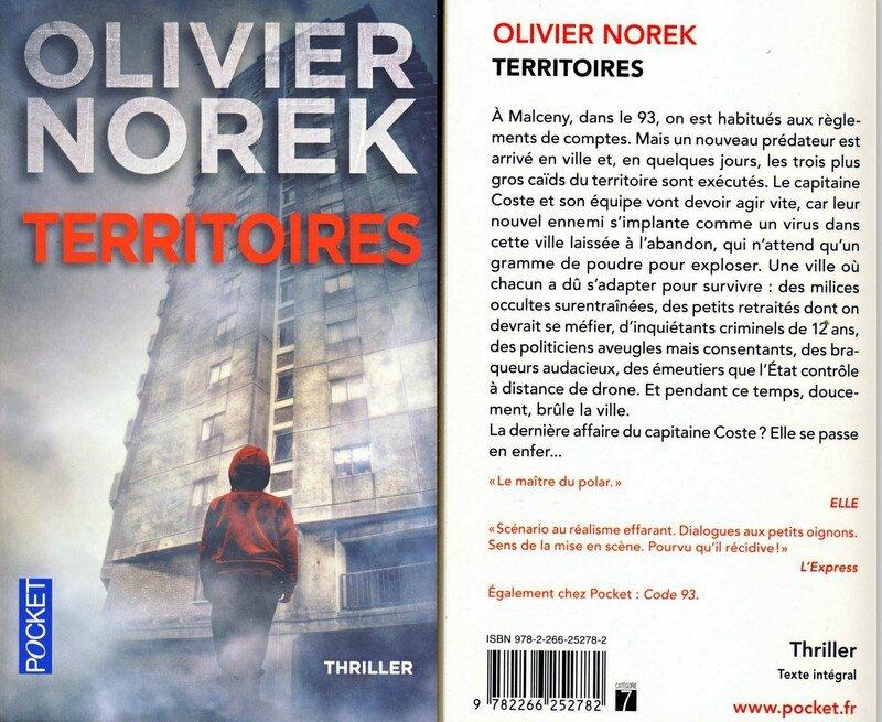 Olivier Norek - Territoires