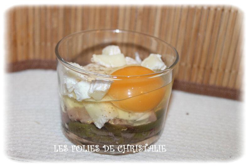 Oeuf crème chèvre 3