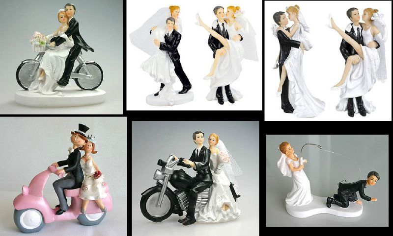 mariage 5 a 11 - Figurine Pice Monte Mariage
