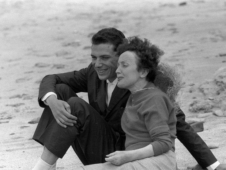 Georges Moustak & Edit Piaf à Deauville