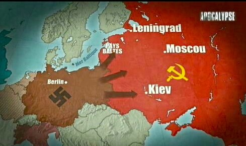 objectifs attaque all URSS