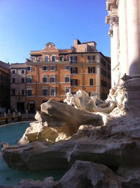 fontaine Trevi Rome 10 dec 2015